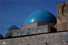 Turkestan - Mausolée du mystique soufi Ahmed Yasavi