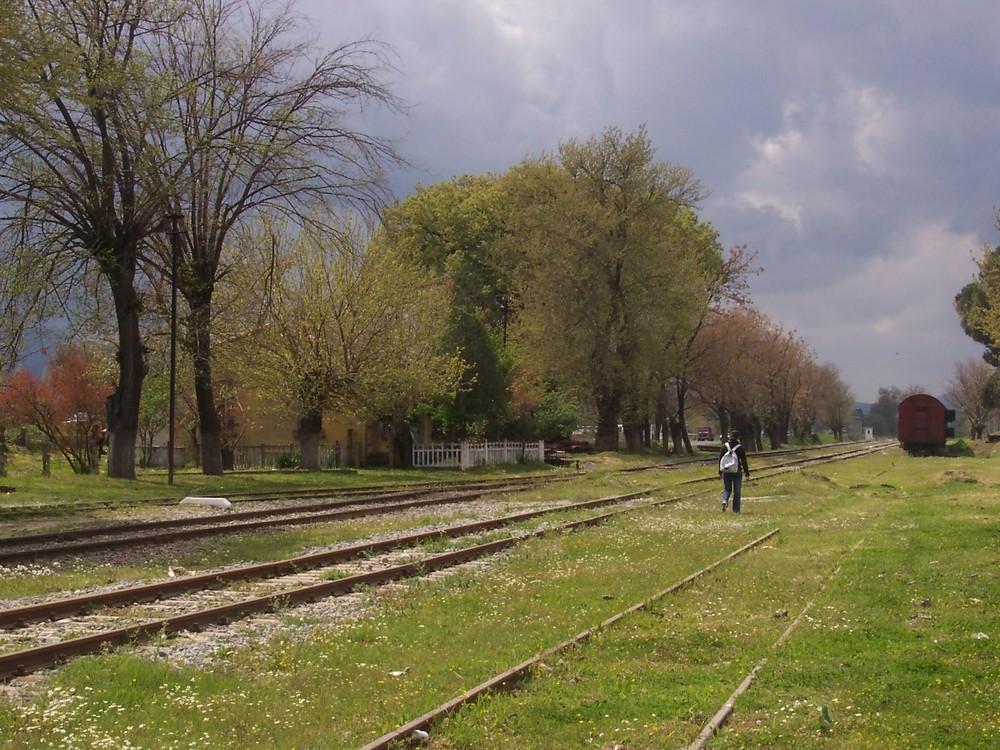 Turkey-Germencik railroad
