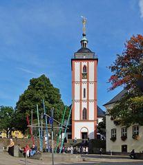 Turm der Nikolaikirche ...