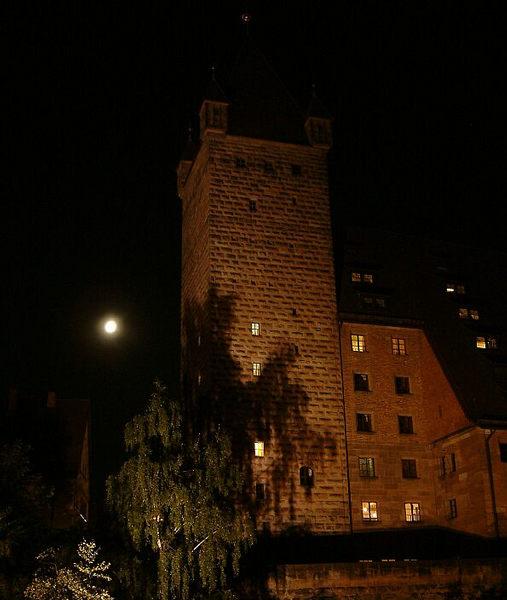 Turm der Nürnberger Burg