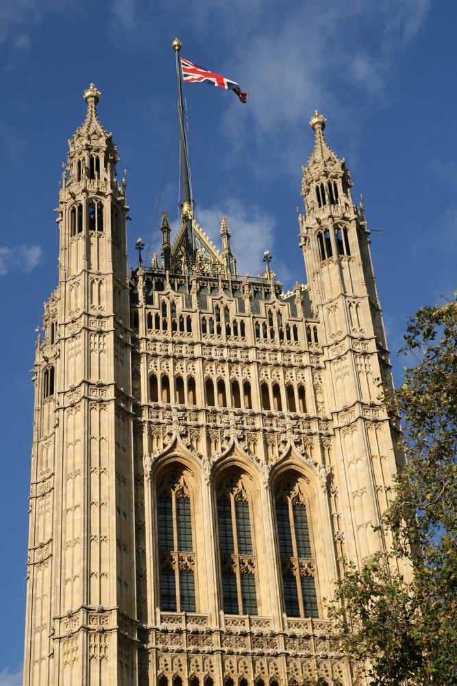 Turm des Parlamentsgebäudes