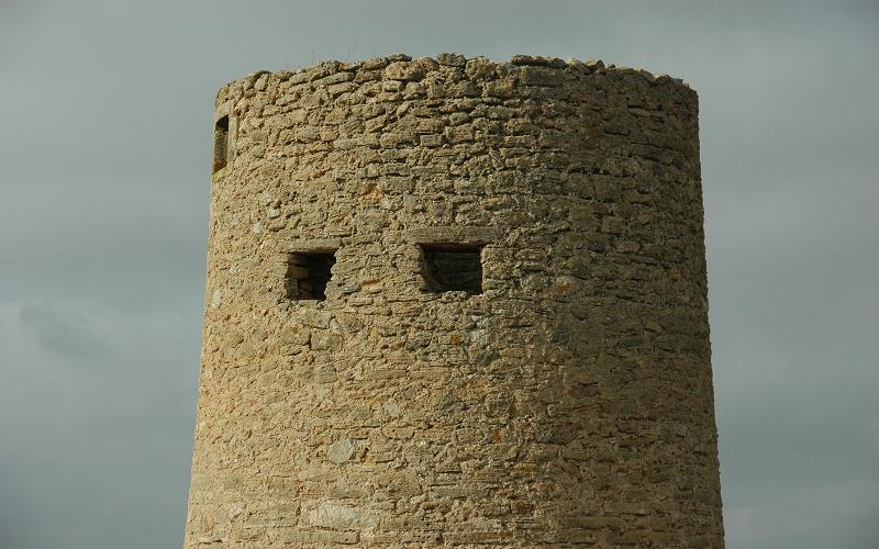 Turm im Wind