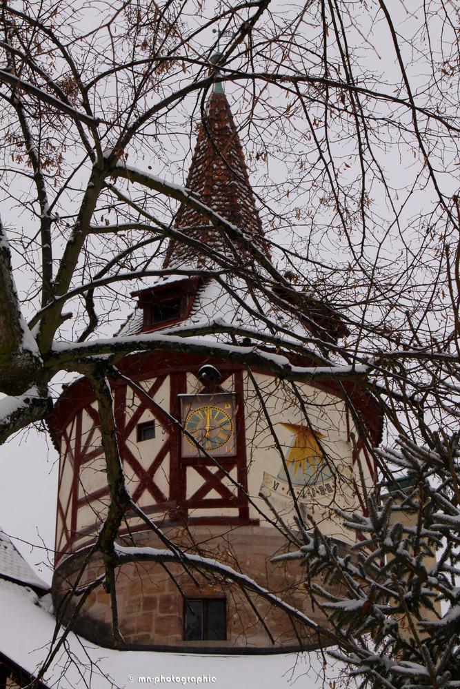 Turm vom Schloss Ratibor in Roth