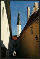 Turm von der Heiliggeistkirche