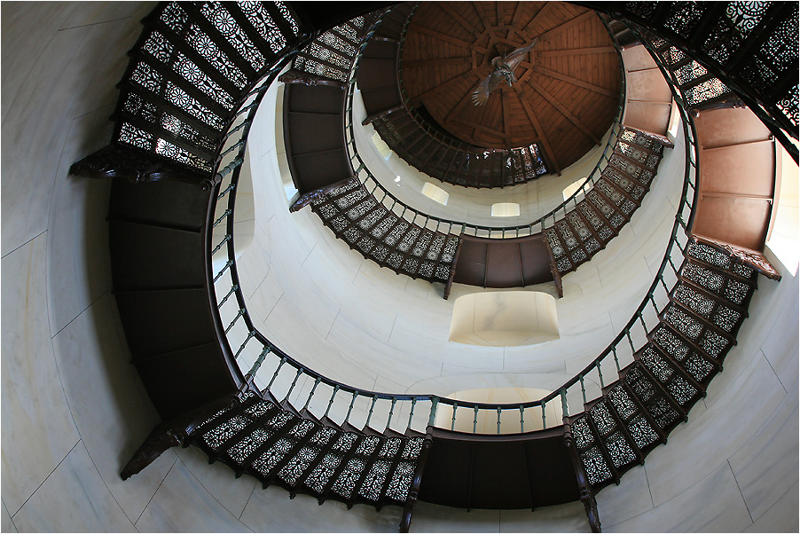 Turmaufstieg