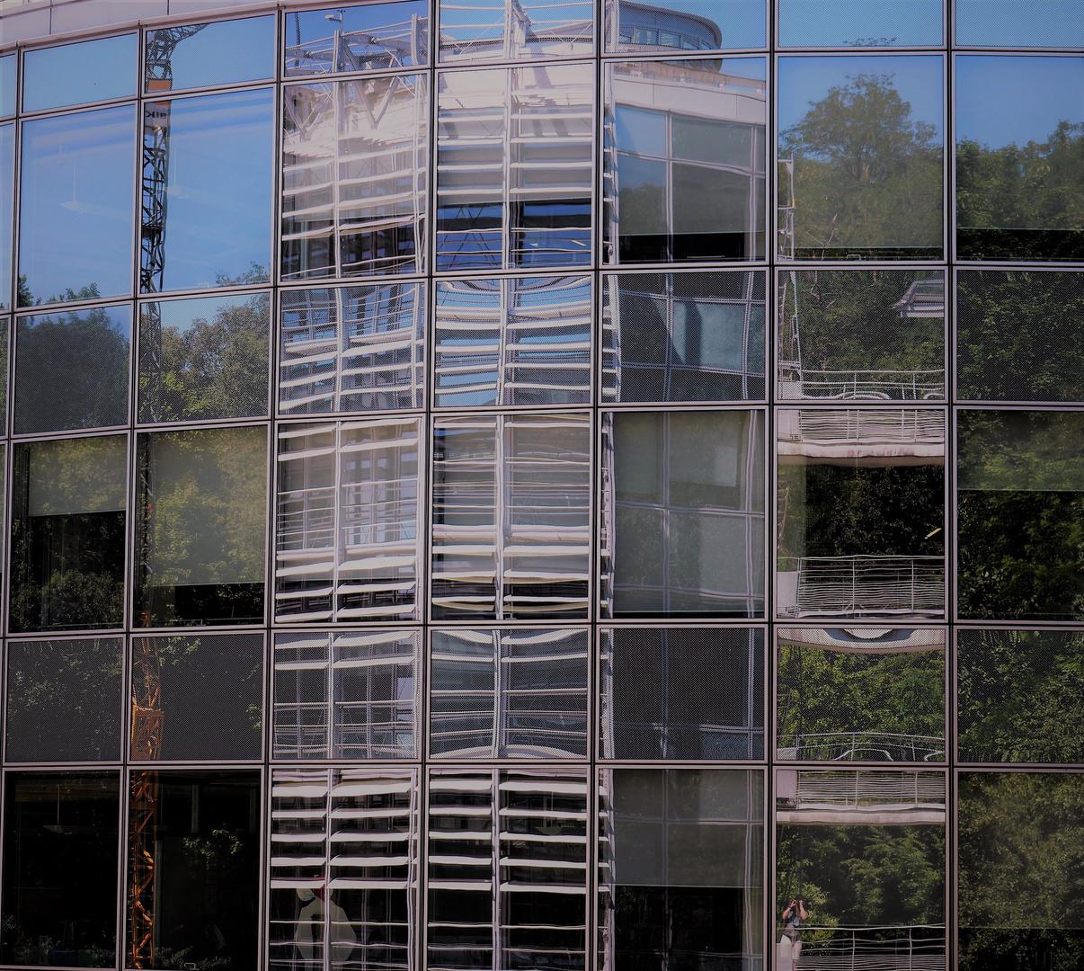 Turmspiegelei zu Saarbrücken