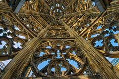 Turmspitze des Kölner Doms - von innen
