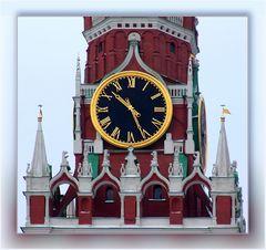 Turmuhr des Kreml - ein Detail