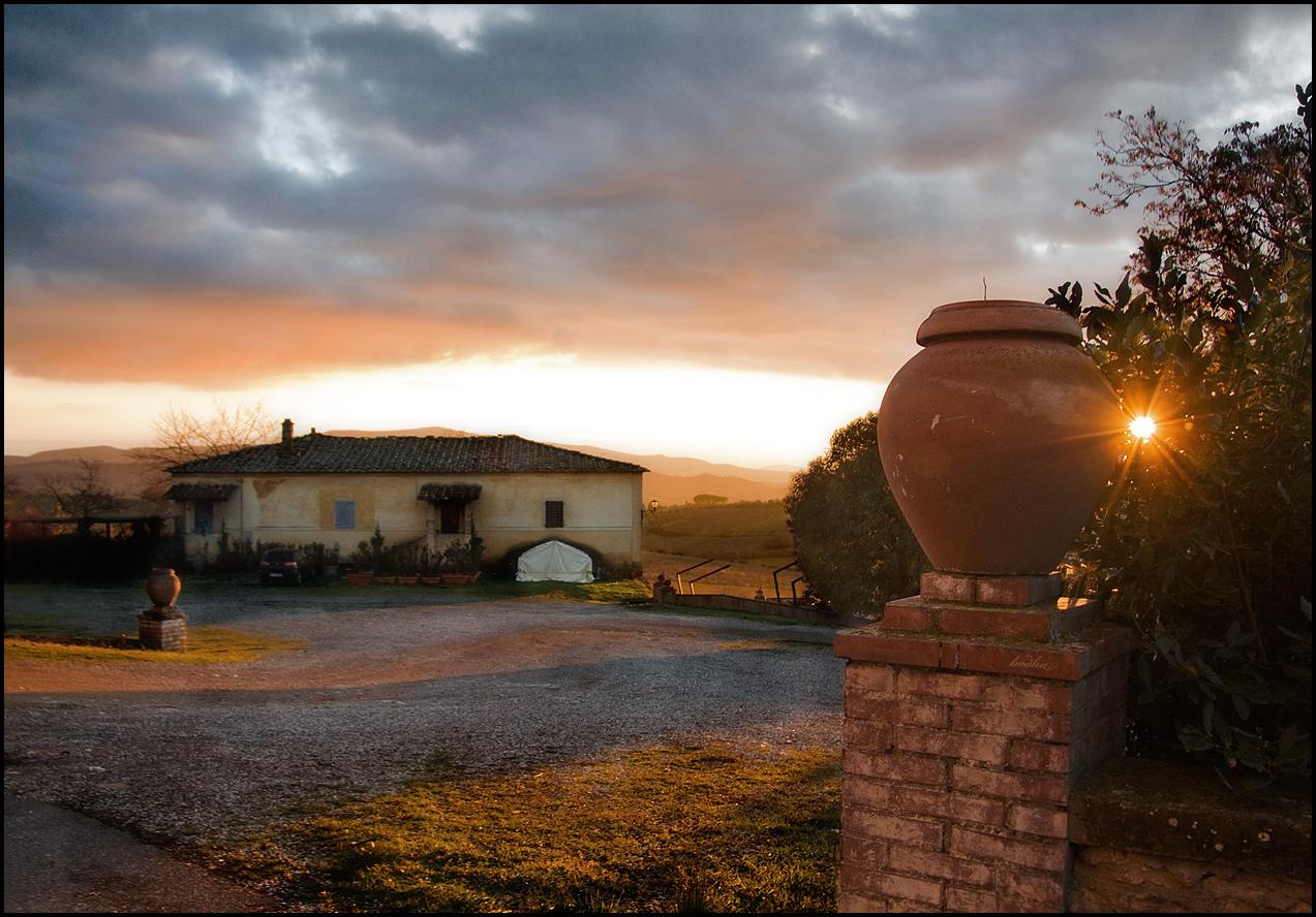 Tuscany sun...