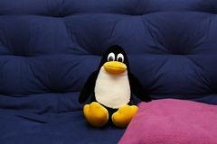 Tux auf dem Sofa #2