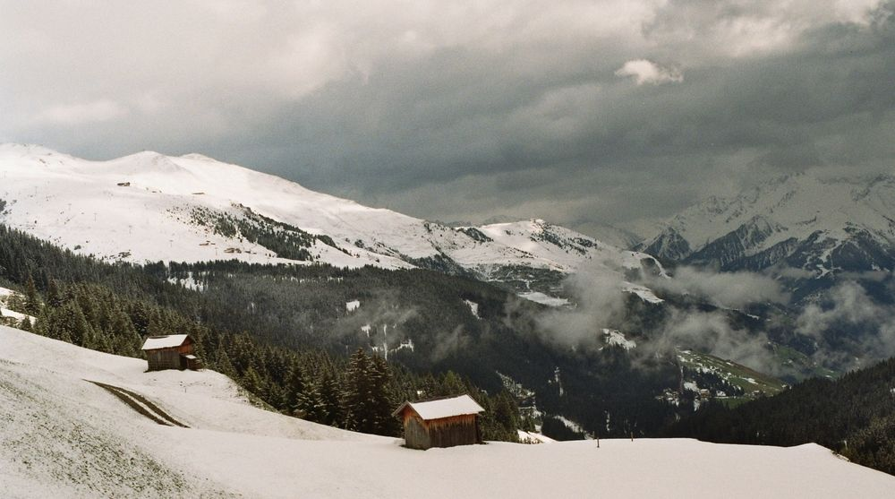 Tuxer Alpen im Nebel