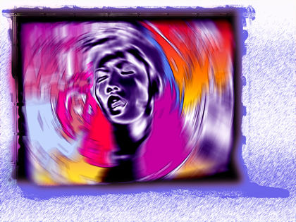 TV series - pictoral orgasmic scream