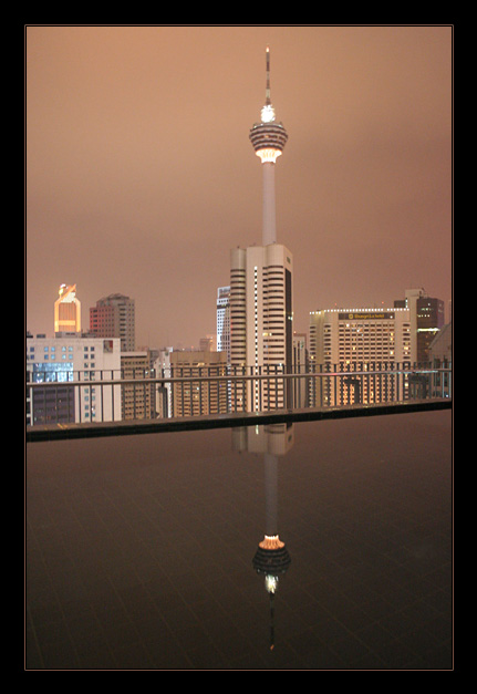 tv tower - KL by night III
