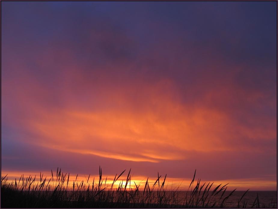 Tversted sunset