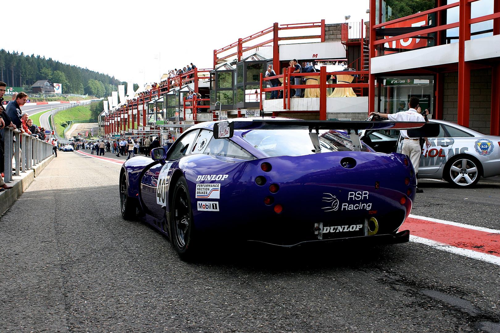 TVR Tuscan 400 R aus dem Team Lawrence Tomlinson (Eigentümer von Ginetta Cars)
