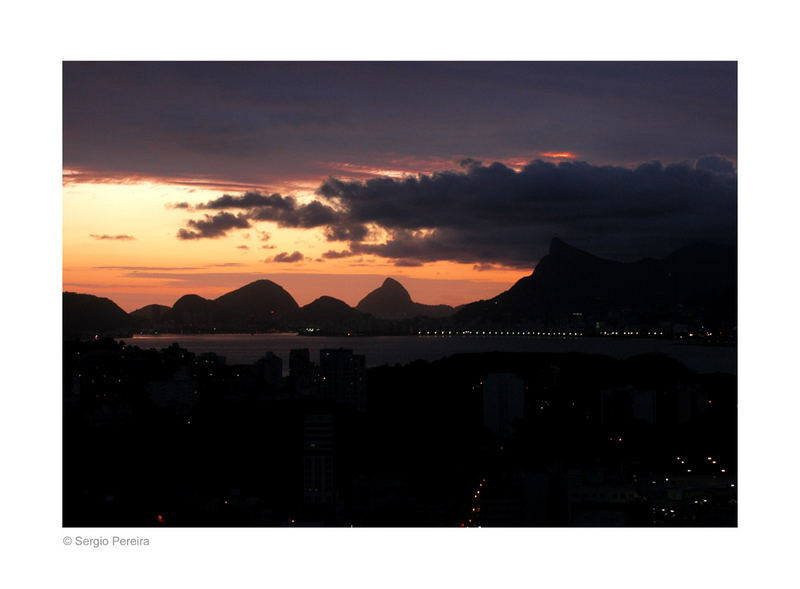 Twilight in Rio de Janeiro