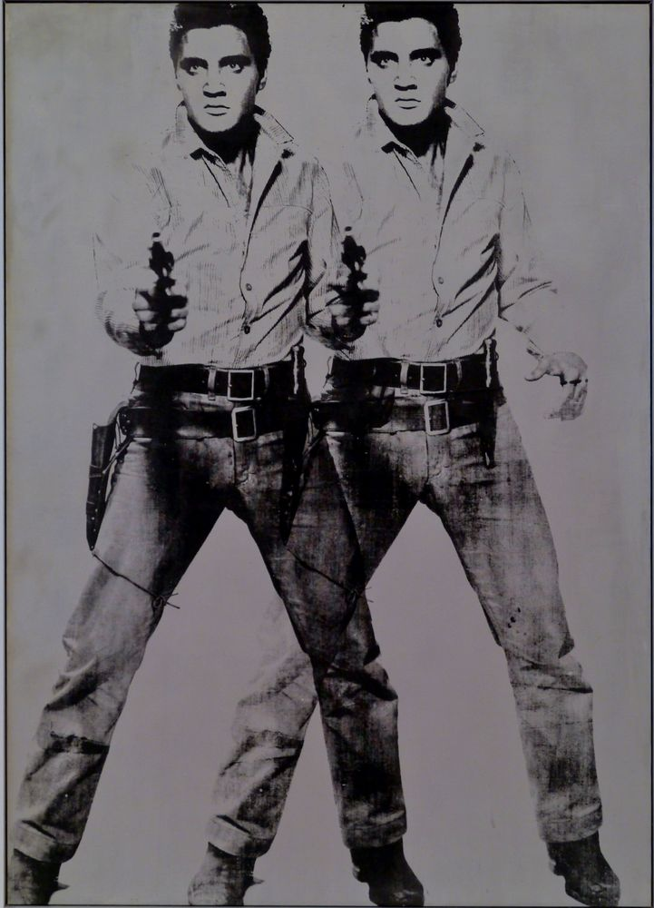 """ Two Elvis """