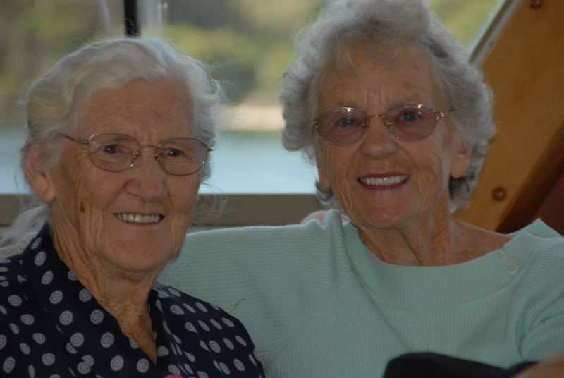 Two Grans Boating on the Hastings