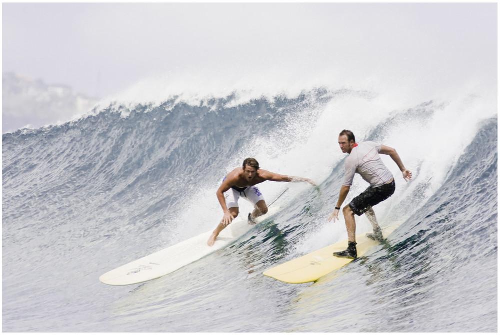 two guys rocking