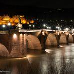 TWO IN ONE -  -  -   Schloß und alte Brücke in Heidelberg