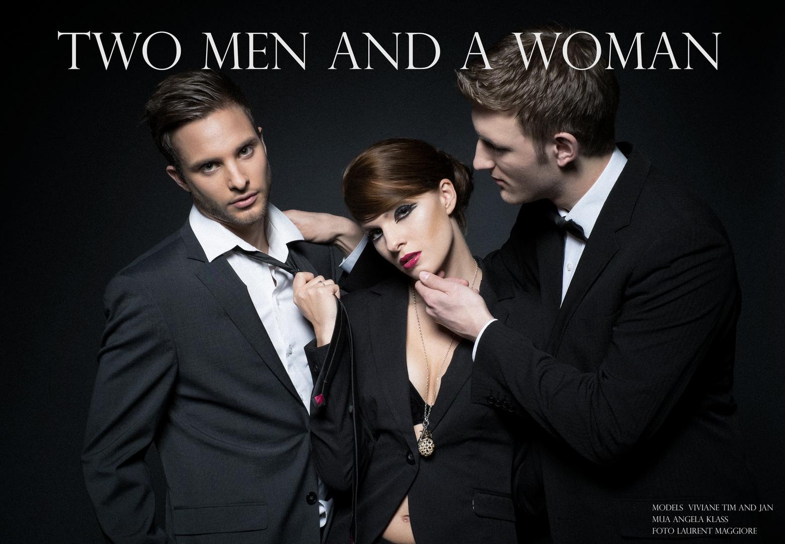 Two Men an a Woman