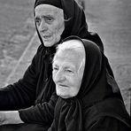 Two sweet ladies...