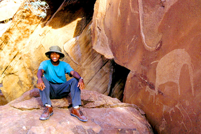 Twyfelfontaine - Ian, Student aus Zimbabwe