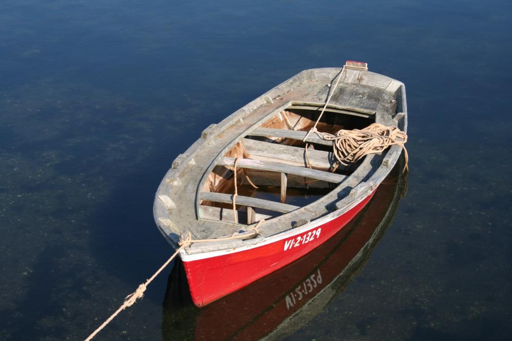 Typical fisher boat of Galicia