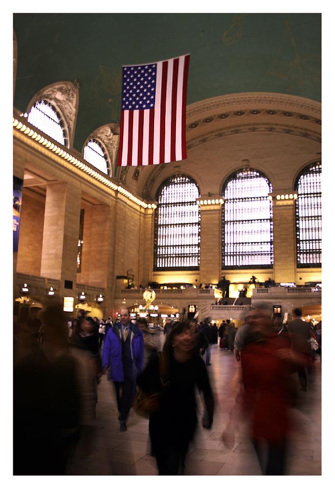 Typisch Grand Central!