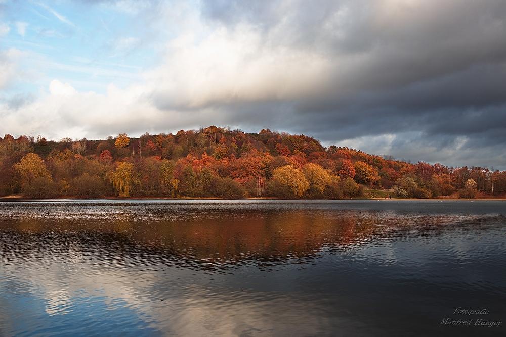 Typisch November - Sonne und Wolken ;-)