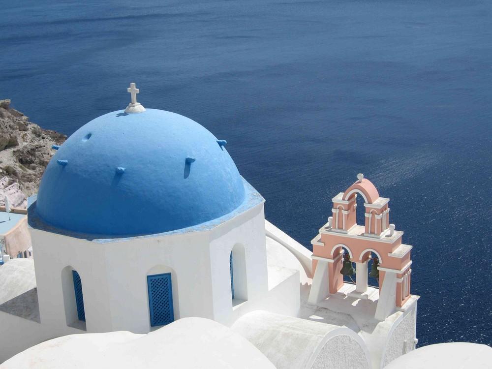 Typisch Santorini