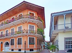 Typische Altstadthäuser