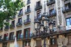 Typische Architektur in Barcelona