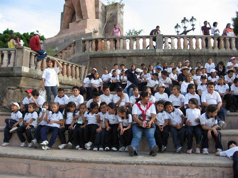 Typische Schulklasse Mexicos