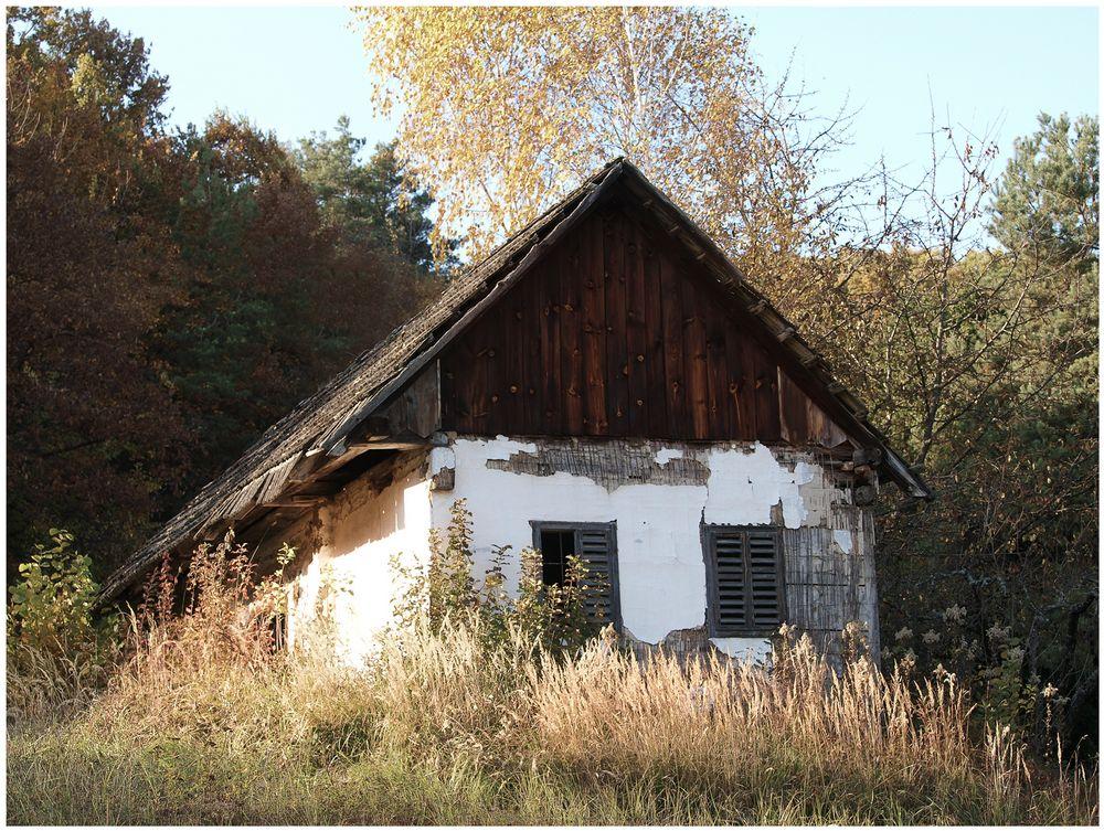Typischer Weinkeller im Burgenland