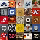 Typokunst-Alphabet