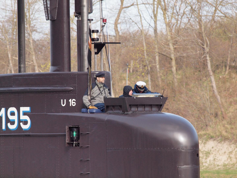 """U 16 (S 195) """"Detailfoto"""" auf dem Nord-Ostsee-Kanal"""