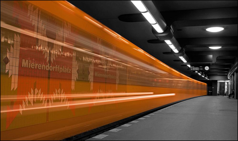 U-Bahn Berlin Colorkey
