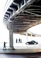 U-Bahn Brücke am Hamburger Rödingsmarkt (stark bearbeitet)