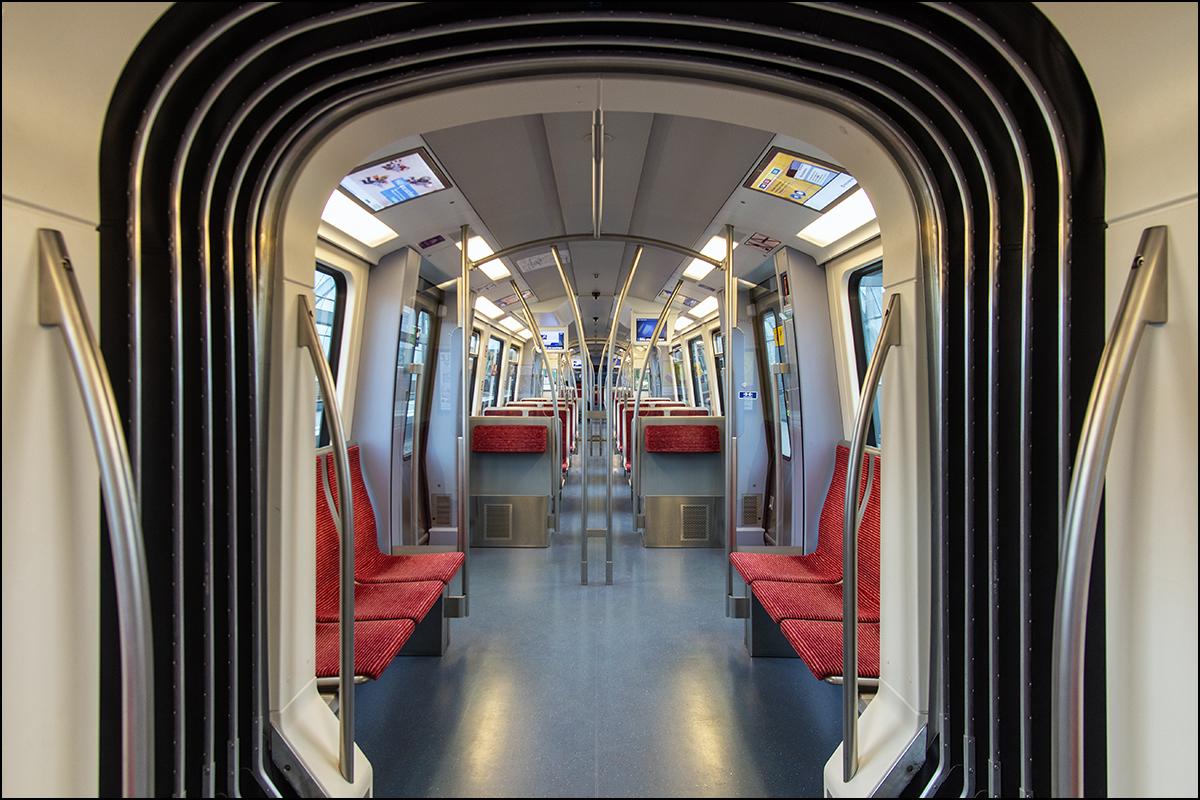 U-Bahn Durchblick