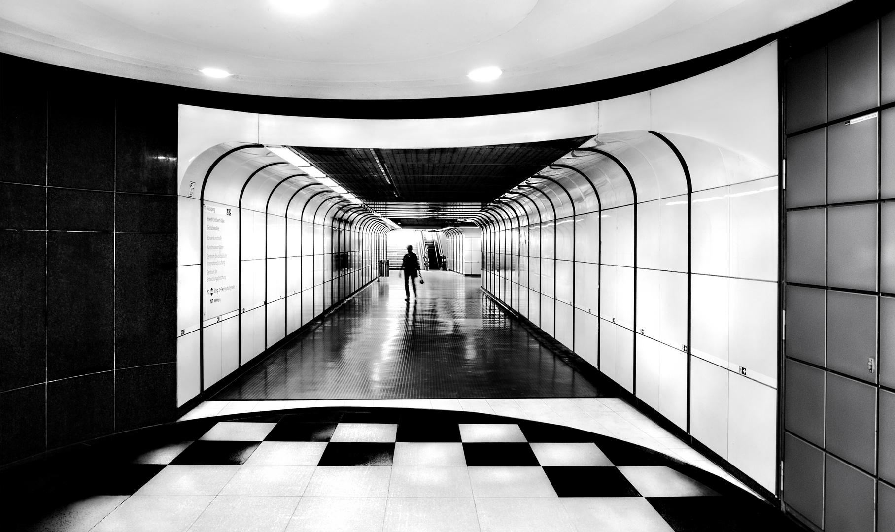 U-Bahn Durchgang