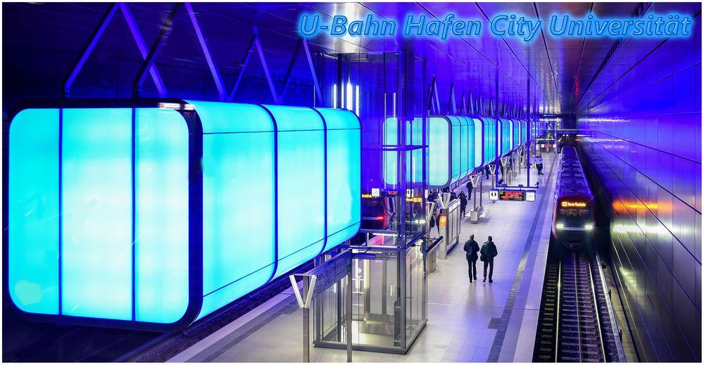 U-Bahn Hamburg Hafen City Universität