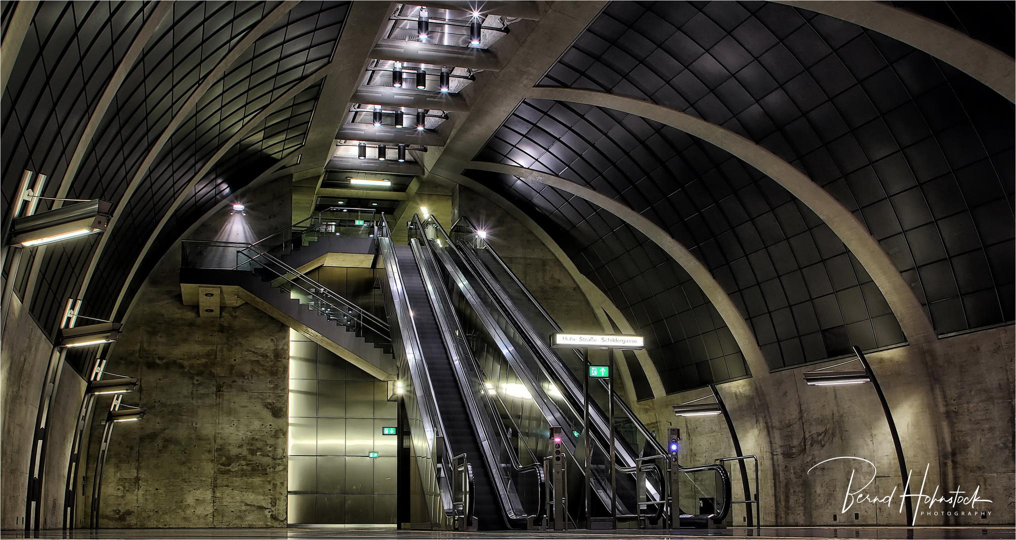 U-Bahn Köln Heumarkt .... Endstation