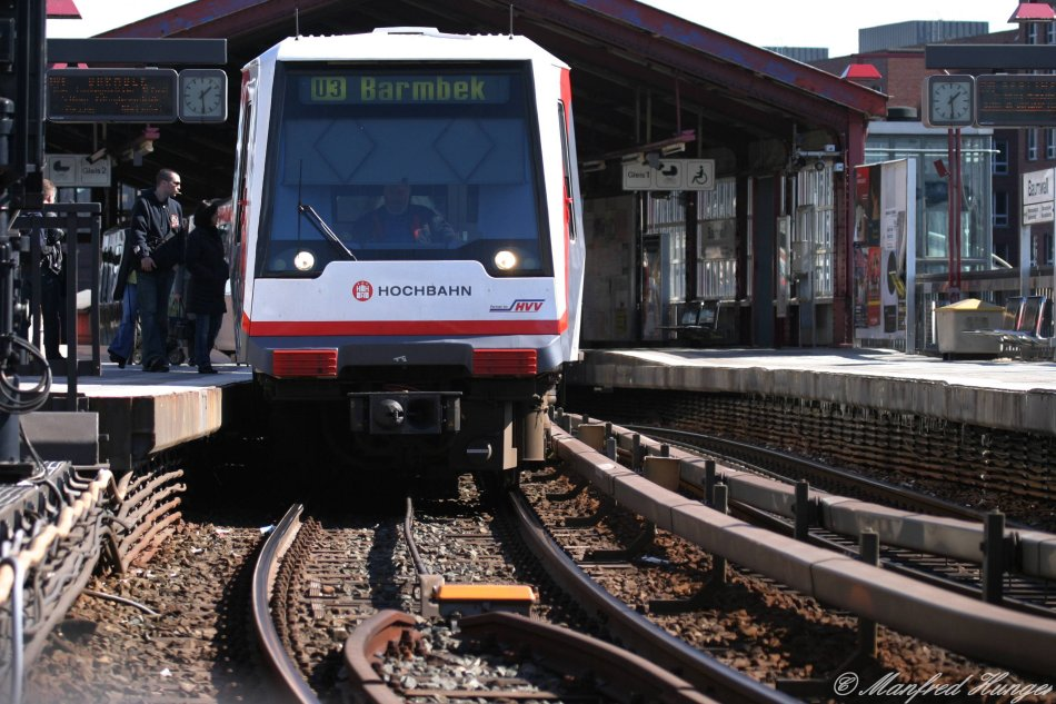 U-Bahn - mal aus einer etwas anderen Perspektive