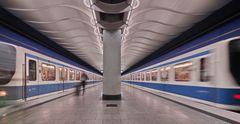 U-Bahn München - Am Hart