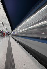 U-Bahn München - Hasenbergl