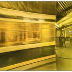U-Bahn München  Spiegeltag