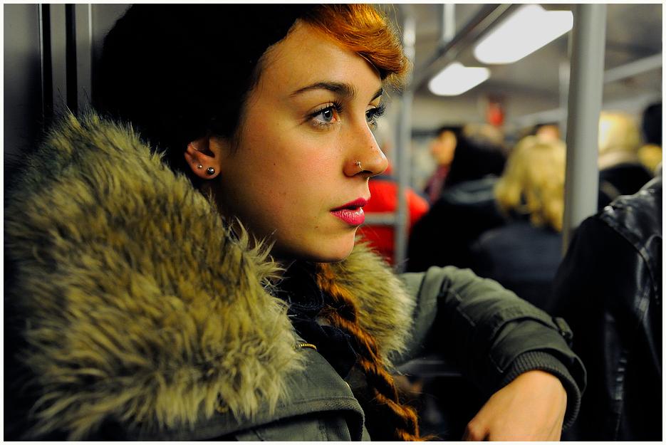 U Bahn, nächster halt Emotionen.
