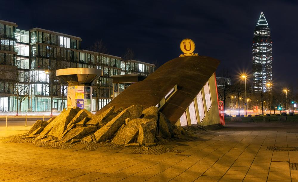 U-Bahn-Station-Blick