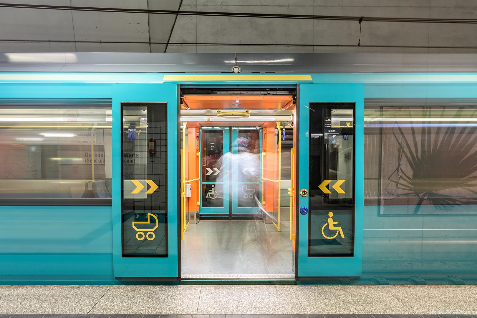 U-Bahn Station Bockenheimer Warte - Zeitmaschine